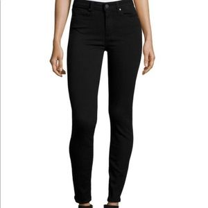 Paige Black Skinny Ankle Pants Size 26